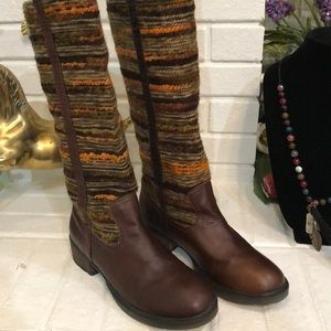 Sbicca vintage collection sweater boots